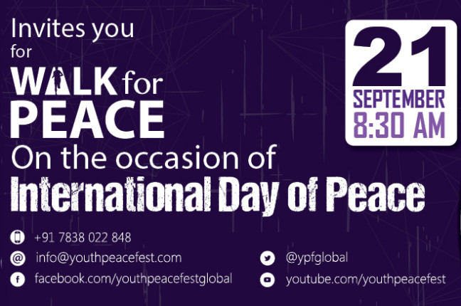 Come and Experience a Day of Peace with YPF