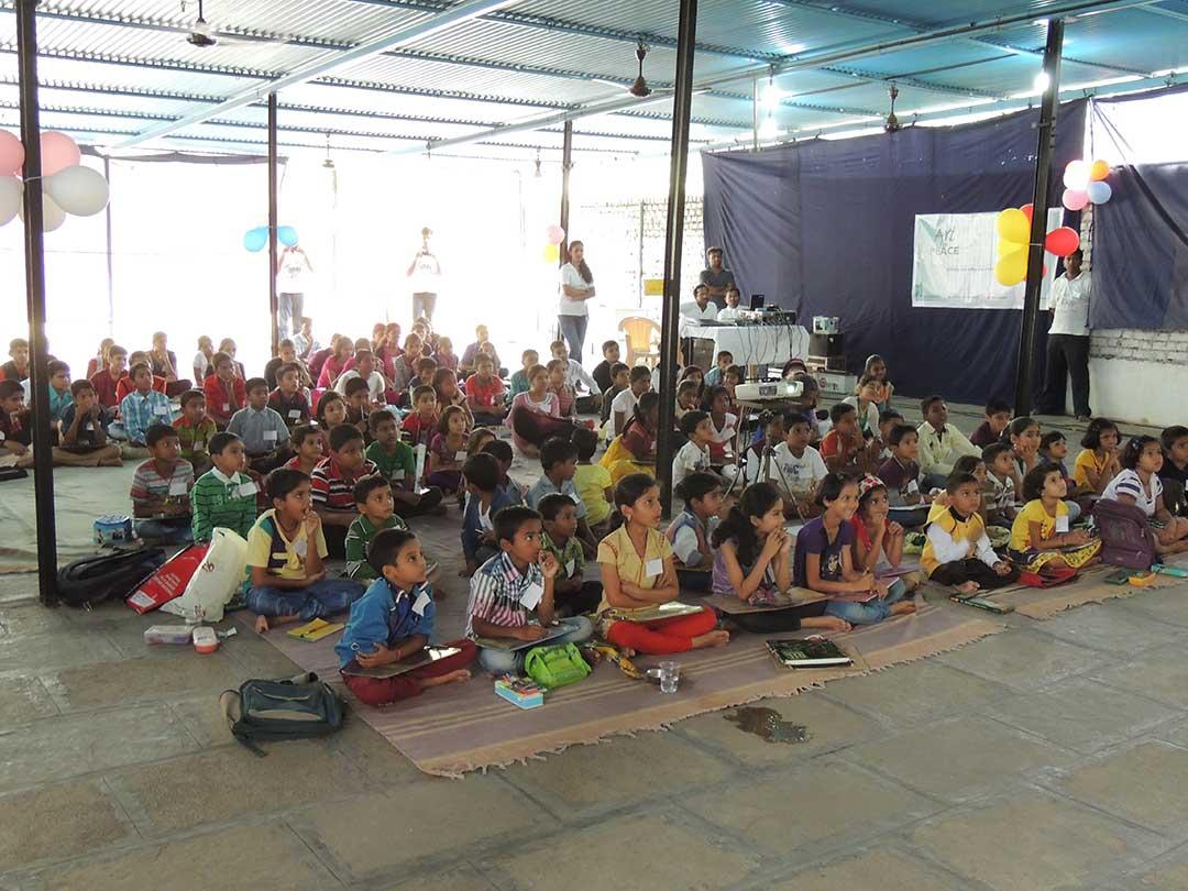 Art for Peace at RVK, Pune (11)