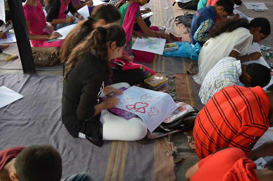 Art for Peace at RVK, Pune (3)
