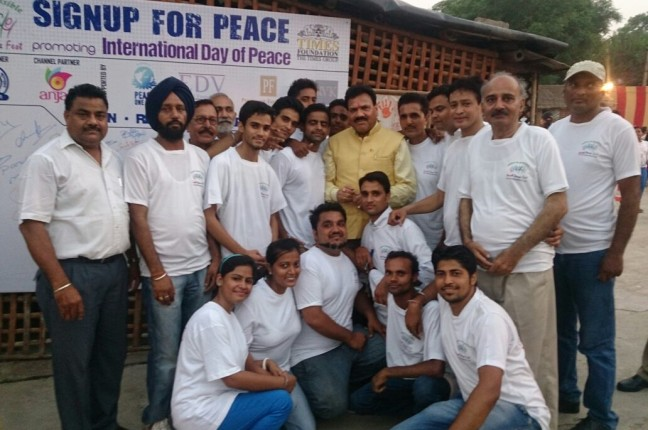 YPF WORLD PEACE DAY AT S.D COLLEGE, JALANDHAR