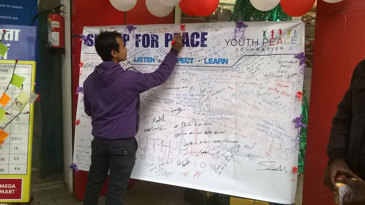 Wishing Tree & Signature Campaign, Kanpur, Uttar Pradesh