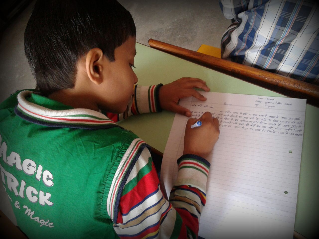 'Write for Peace' and 'Talk for Peace' at Elite International School, Sonia Vihar, New Delhi