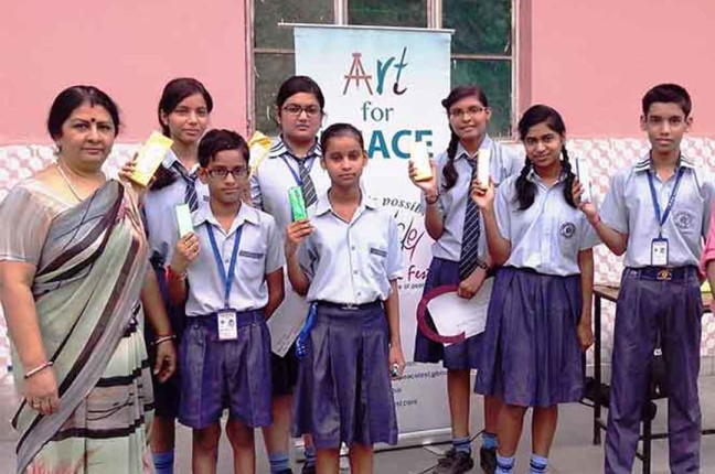 ART FOR PEACE AT R.K. INSTITUTE, GHAZIABAD