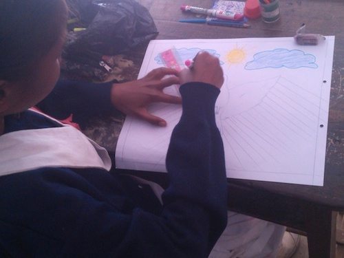 Write & Art for peace at Ranchi, Jharkhand