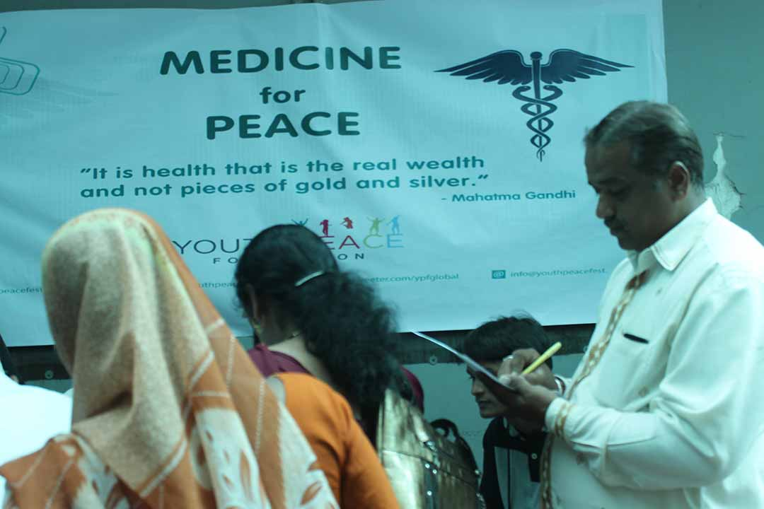 Medicine for Peace at OMS Hospital, Pune
