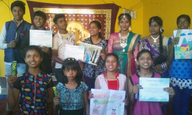 Peace Activities in Golden Public School, Ranchi