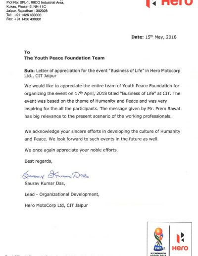 Appreciation-letter-Hero-MotoCorp