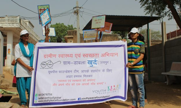 Cleanliness Campaign in Village Dabla Khurd at Jaipur